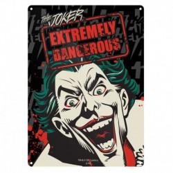 Chapa Metalica Pequeña Dc Comics Batman Joker