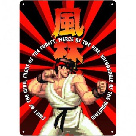 Chapa Metalica Street Fighter Ryu