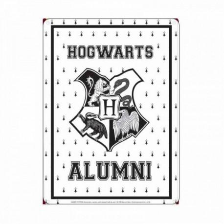 Chapa Metalica Harry Potter Hogwarts Alumni