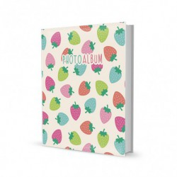 Album Foto 200 Bolsillos 13X20Cm Strawberry