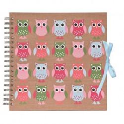 Album Foto Scrapbook 25 Bolsillos 10X15Cm Owls
