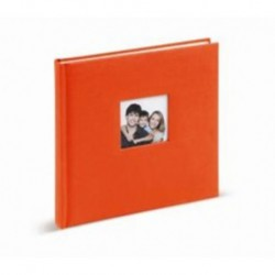 Album Foto Tradicional 24X24Cm 40 Paginas Naranja