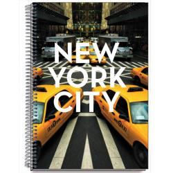 Cuaderno Tapa Dura A4 Cities New York