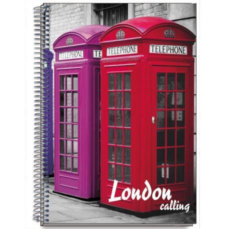 Cuaderno Tapa Dura A4 Cities Londres