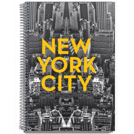Cuaderno Tapa Dura A5 Cities New York