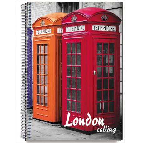 Cuaderno Tapa Dura A5 Cities Londres