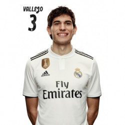 Postal Real Madrid 2018/2019 Vallejo Busto