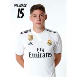 Postal Real Madrid 2018/2019 Valverde Busto