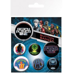 Pack Chapas Ready Player One Mix