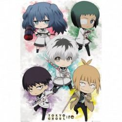 Poster Tokyo Ghoul Re Chibi Characters