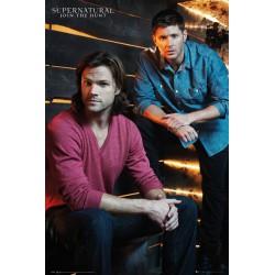 Poster Supernatural Brothers