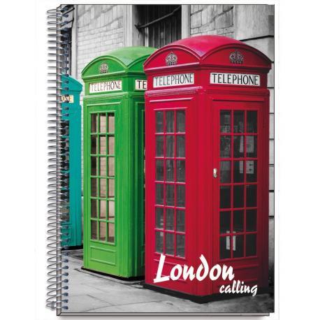 Cuaderno Tapa Dura A6 Cities Londres