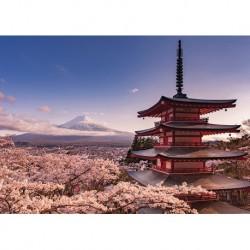 Poster Gigante Mount Fuji Blossom