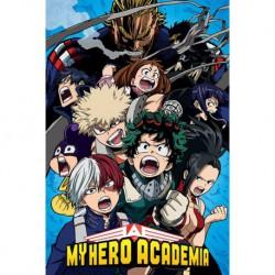 Poster My Hero Academia Cobalt Blast Group