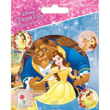 Sticker Vinilo Disney Beauty And The Beast Tale As Old As Time
