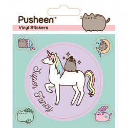 Sticker Vinilo Pusheen Mythical