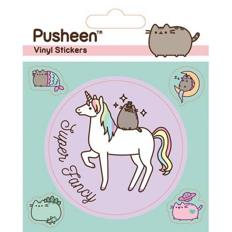 Sticker Vinilo Pusheen Mythical