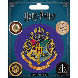 Sticker Vinilo Harry Potter Hogwarts