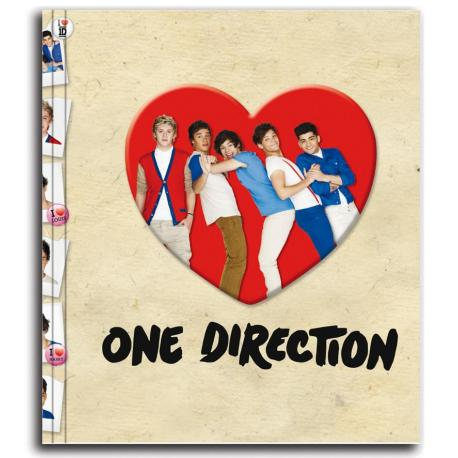 Carpeta Anillas One Direction