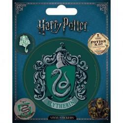 Sticker Vinilo Harry Potter Slytherin