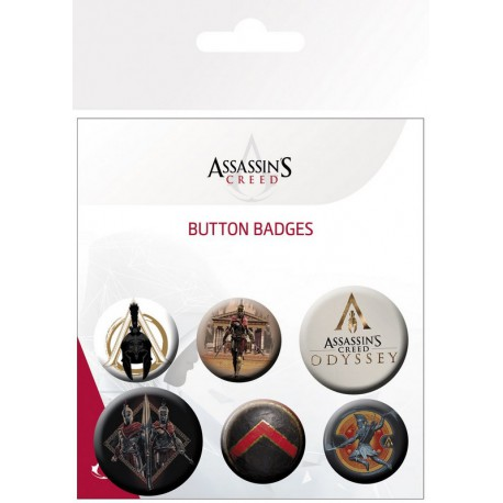 Pack Chapas Assassins Creed Odyssey Mix