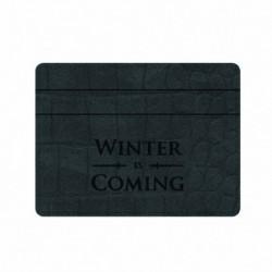 Tarjetero Game Of Thrones Winter Is Coming