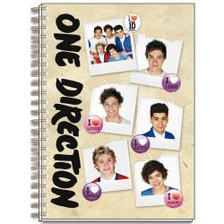 Cuaderno Tapa Dura A4 One Direction