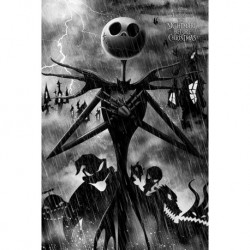 Poster Nightmare Before Christmas Storm