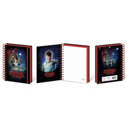 Cuaderno A5 Wiro Stranger Things One Sheet