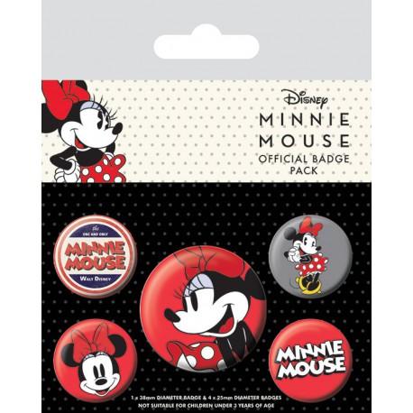 Pack Chapas Disney Minnie Mouse