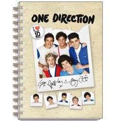 Cuaderno Tapa Dura A6 One Direction