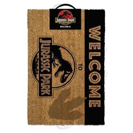 Felpudo Jurassic Park Welcome To Jurassic Park