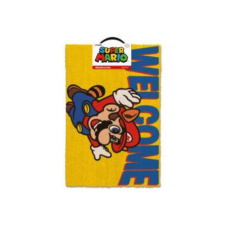 Felpudo Super Mario Welcome