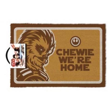 Felpudo Star Wars Chewie Were Home