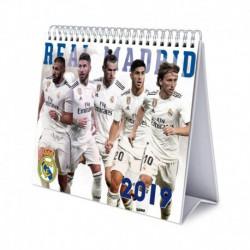 Calendario De Escritorio Deluxe 2019 Real Madrid