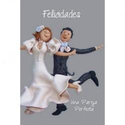 Tarjeta Felicitacion Recien Casados 4