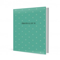 Album Foto Archivador Recargable 40 Bolsillos 10X15Cm Green Dots
