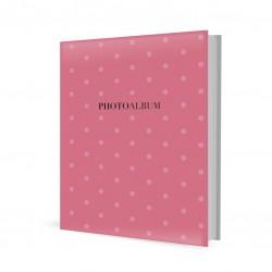 Album Foto Archivador Recargable 10 Paginas Autoadhesivas Coral Dots