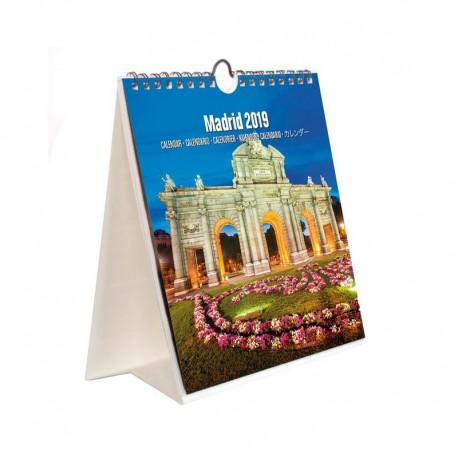 Calendario Turistico Combi 2019 Madrid