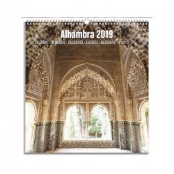 Calendario Turistico Mediano 2019 Alhambra