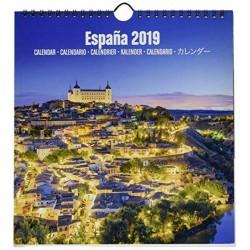 Calendario Turistico Mediano 2019 España