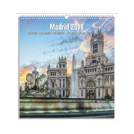 Calendario Turistico Mediano 2019 Madrid