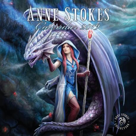 Calendario 30X30 2019 Anne Stokes