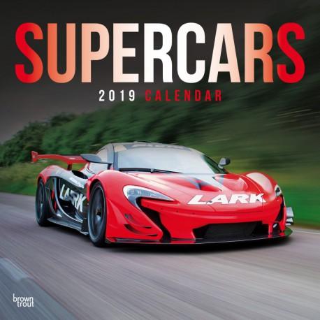 Calendario 30X30 2019 Supercars
