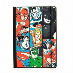 Cuaderno A5 Dc Comics Justice League