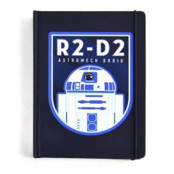 Cuaderno A5 Star Wars R2 D2 Icon