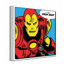 Cuadro Canvas 40X40 Marvel Iron Man