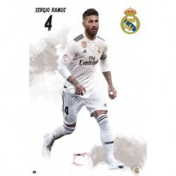 Poster Real Madrid 2018/2019 Sergio Ramos