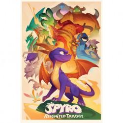 Poster Spyro Animated Style
