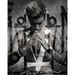 Mini Poster Justin Bieber Purpose